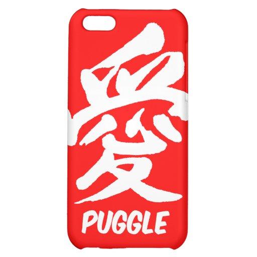 love puggle iPhone 5C cases
