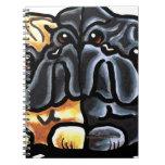 Love Pugs Notebook