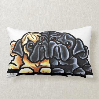 Love Pugs Throw Pillows