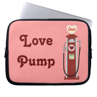 Love Pump Laptop Sleeve