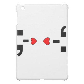 Love Punctuation Smileys- iPad Mini Case