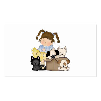 Love Puppies Double-Sided Standard Business Cards (Pack Of 100)