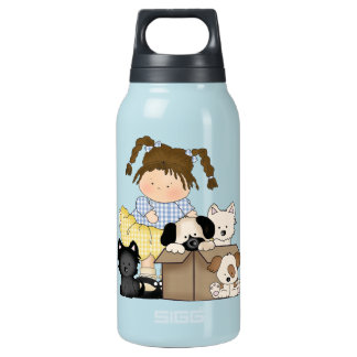 Love Puppies Insulated Water Bottle