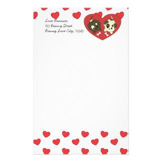 Love Puppies Stationery Design