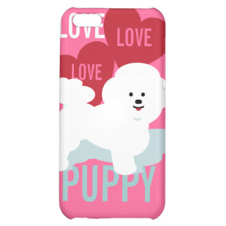 Love Puppy Cell Bichon Frise Swank iPhone 5C Covers