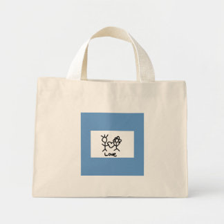 love purse mini tote bag