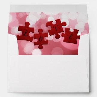 Love Puzzle - Envelope A7