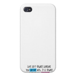 Love quote case for iPhone 4