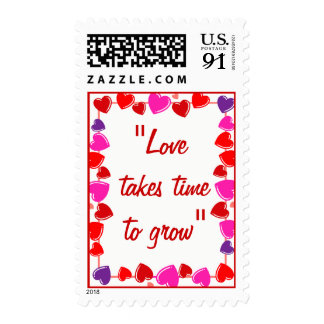 Love Quote Postage