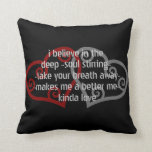 Love Quote Throw Pillow Throw Pillow