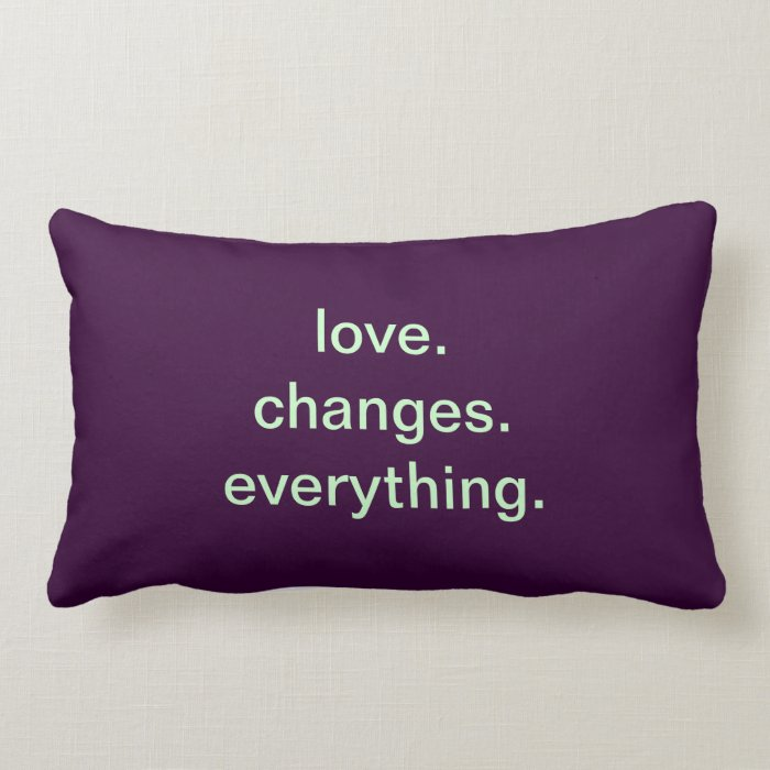 Love Quote Throw Pillows Zazzle