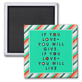 Love Quotes Magnet