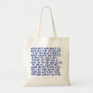 Love Quotes: Words Didn't Make Sense Tote Bag