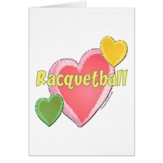 Love Racquetball Card