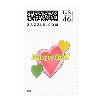 Love Racquetball Stamps