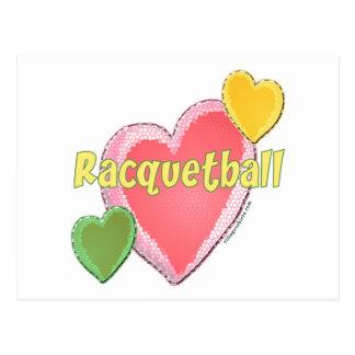 Love Racquetball Post Card