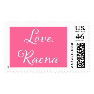Love Raena Postage