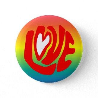 Love Rainbow zazzle_button