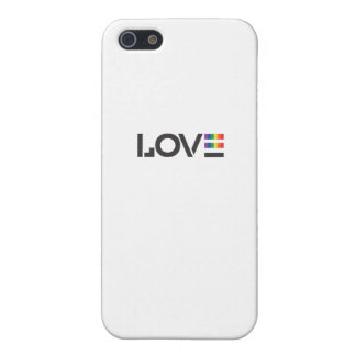 Love Rainbow Flag Equality Symbol iPhone SE/5/5s Cover