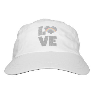 Love, Rainbow Heart Hat
