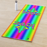 Love Rainbow Intentions Yoga Mat