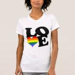 Love Rainbow Pride Tee Shirt