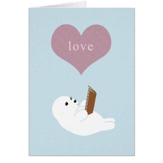 Love Reading Greeting Card