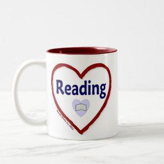 Love Reading Two-Tone Coffee Mug