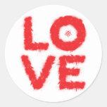 LOVE (Red Edition) Sticker