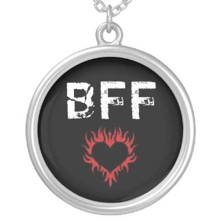 Love Red Heart BFF Necklace
