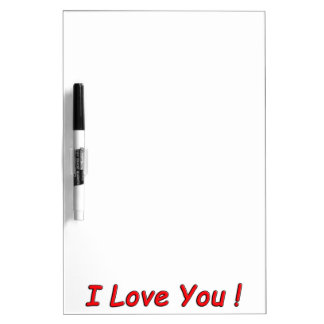 LOVE RED QUOTES SAYINGS EXPRESSIONS Dry-Erase BOARD