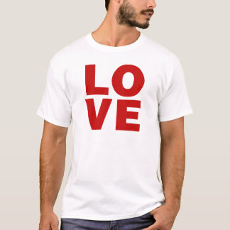 Love Red Retro Valentines Day T-Shirt