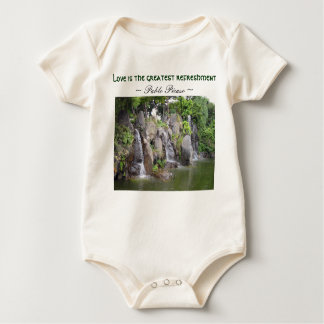 Love refreshes infant creeper