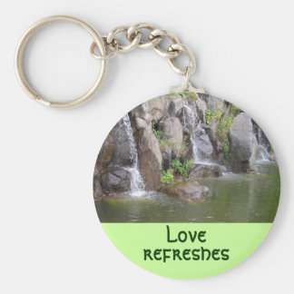 Love refreshes keychain
