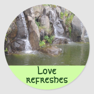 Love refreshes stickers