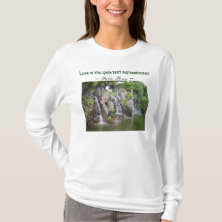 Love refreshes womens hoodie