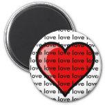 Love Refrigerator Magnet