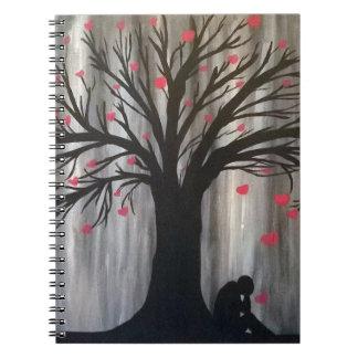Love Reigns Down Spiral Notebook