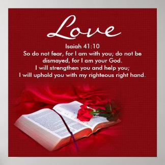 Love - Religious Poster - Christian