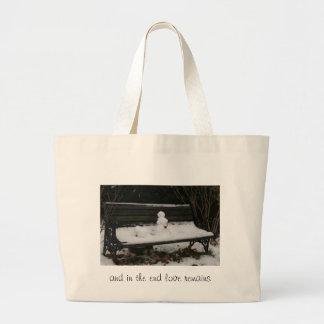 love remains jumbo tote bag
