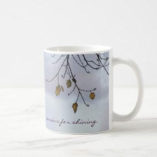 Love Remains Shining Poetic Mug