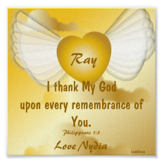 Love Remembrance Poster-Customize Poster