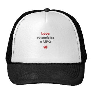 Love resambles a UFO Mesh Hat