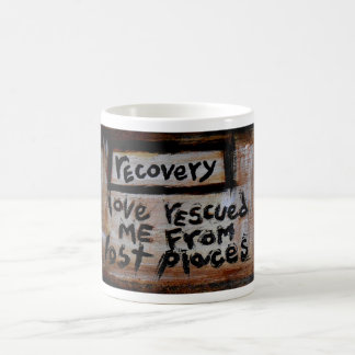 love rescued me from lost places classic white coffee mug