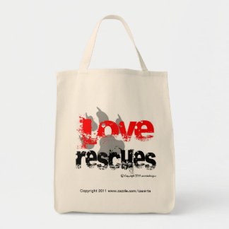 Love Rescues Tote Bag