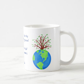 Love Respect Earth Poem and Art Name Personalized Coffee Mug
