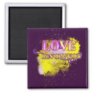 Love Revolution Fridge Magnet