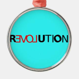 Love Revolution Ornament