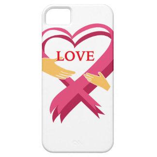 LOVE RIBBON iPhone SE/5/5s CASE