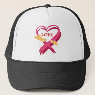 LOVE RIBBON TRUCKER HAT